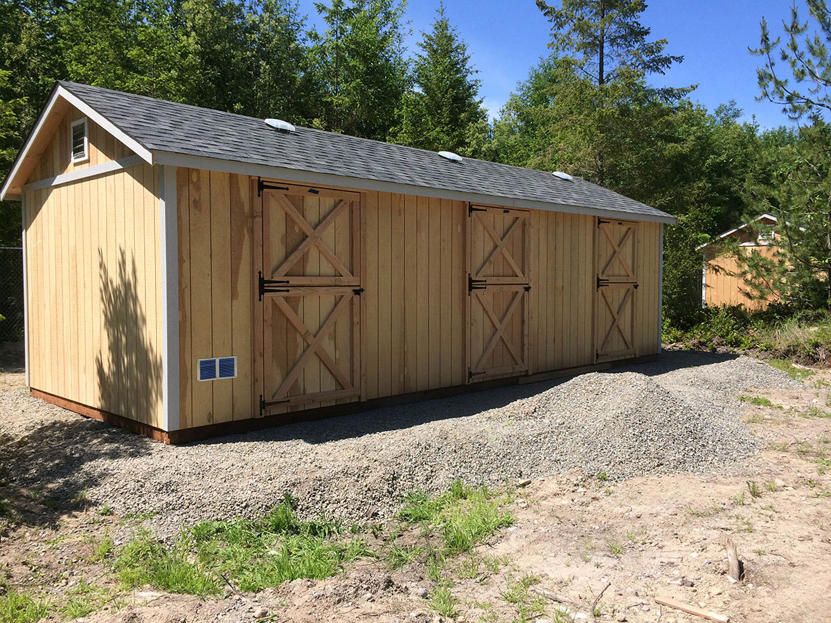 sheds best kit arlington by shed and barns product storage