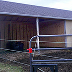 12'x36' Run-in with Tack Room