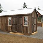 10'x20' Antique Custom Barn, Siding, windows, roof
