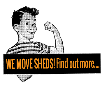 We Move Sheds!